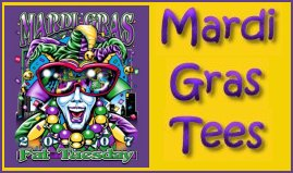 Mardi Gras Tees at Little by Little