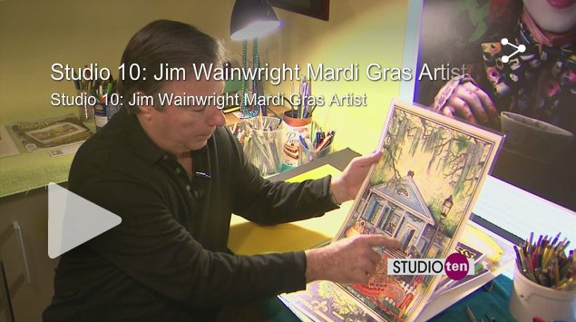 View Jim Wainwright's interview on Studio ten
